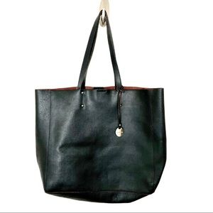 Pulicati Saffiano Prezzo Black Leather Bag